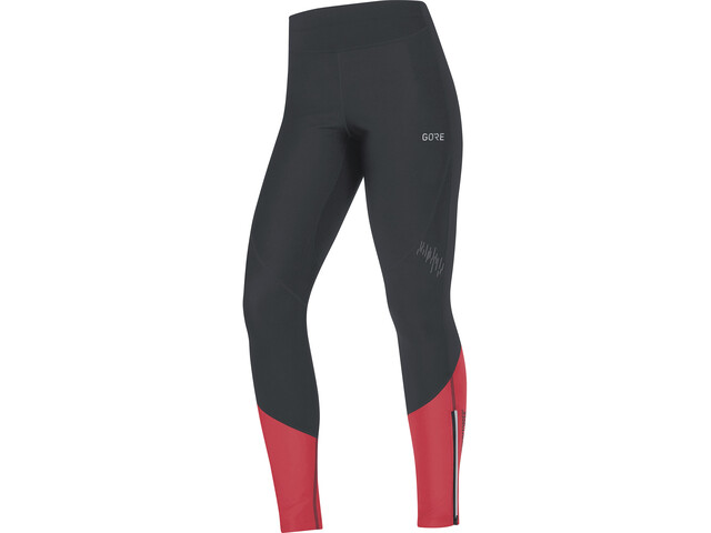 GORE WEAR R5 Windstopper Tights Women black/hibiscus pink